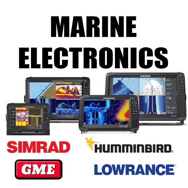 Marine Electronics - Sounder/GPS/Autopilot
