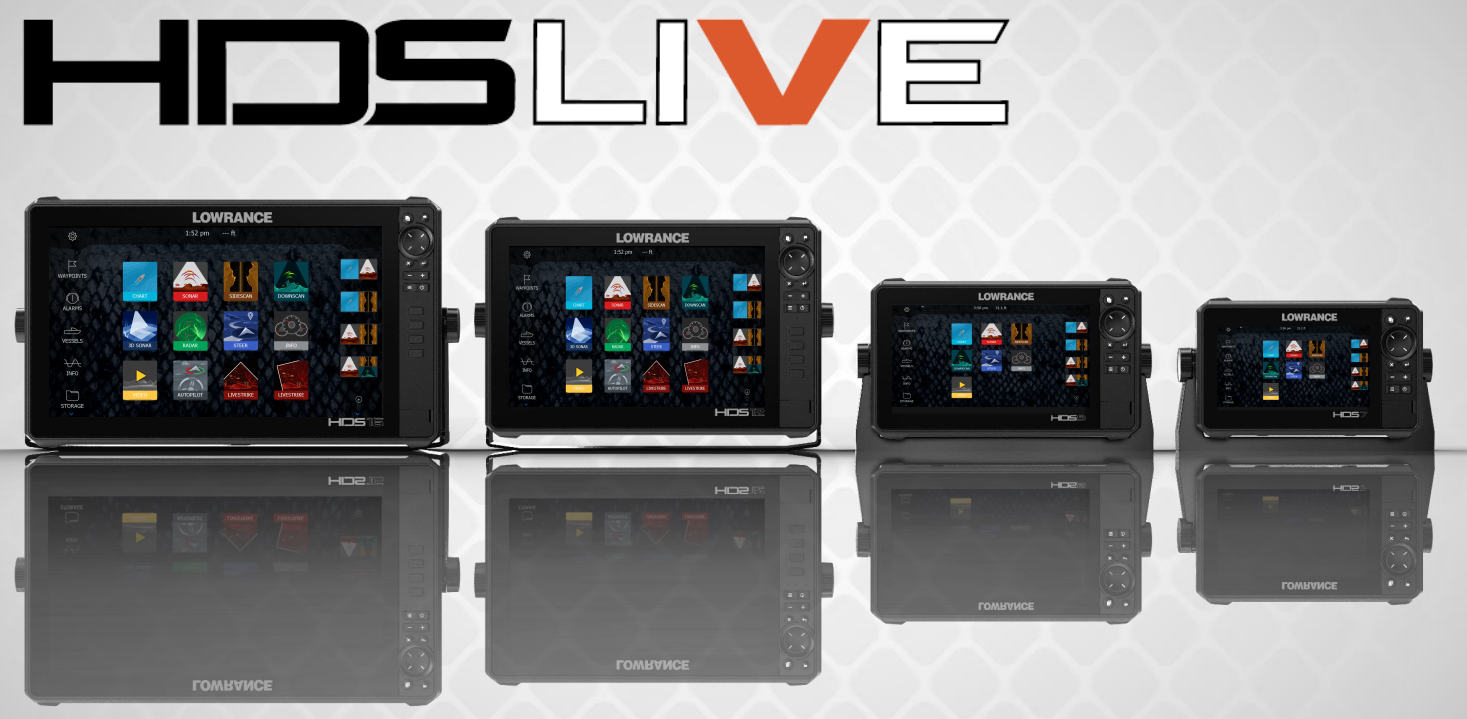 Lowrance HDS Live – New Release and Available Now at Brisbane Marine