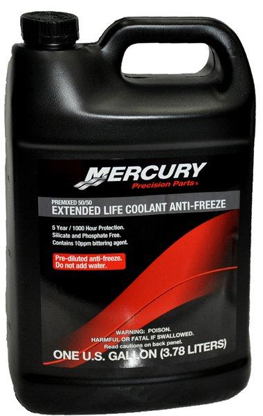 Mercury Extended Life Coolant Anti-Freeze 3 78Ltr