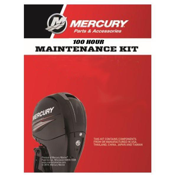Mercury 100 Hour Maintenance Kit - EFI 4 Stroke 40/50/60 HP (Command Thrust)
