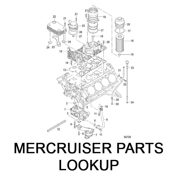 MerCruiser Parts Lookup