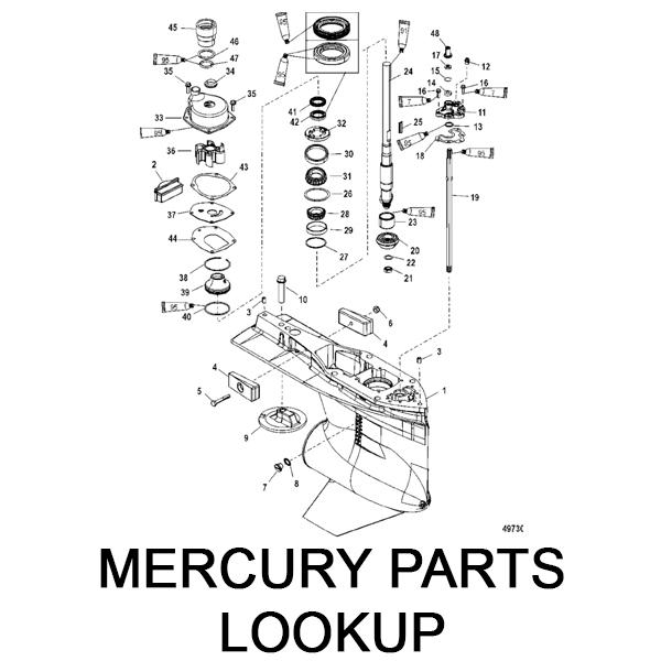 Mercury Parts Lookup