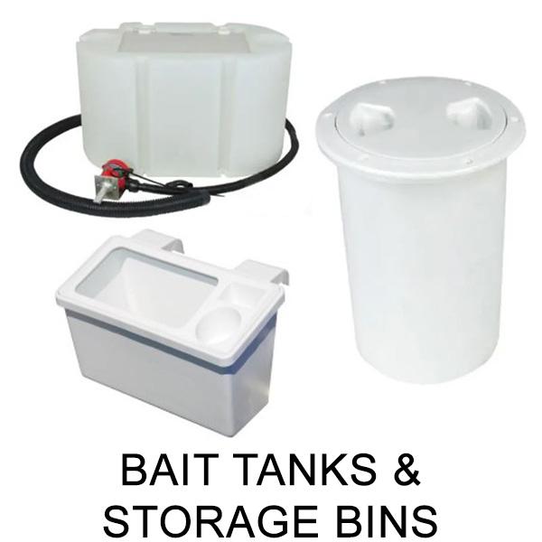 Bait Tanks & Storage Bins