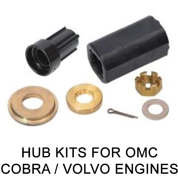 Hub Kits for OMC Cobra / Volvo Engines