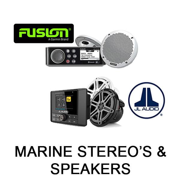 Marine Stereo's & Speakers