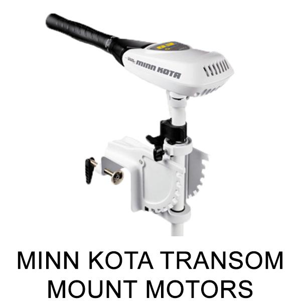 Minn Kota Transom Mount Motors