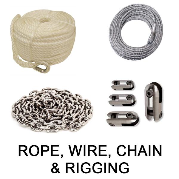 Rope, Wire, Chain & Rigging
