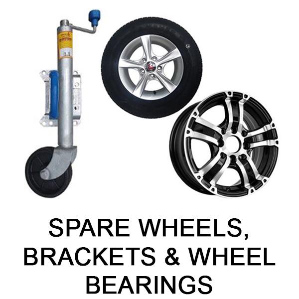 Spare Wheels, Brackets & Wheel Bearings