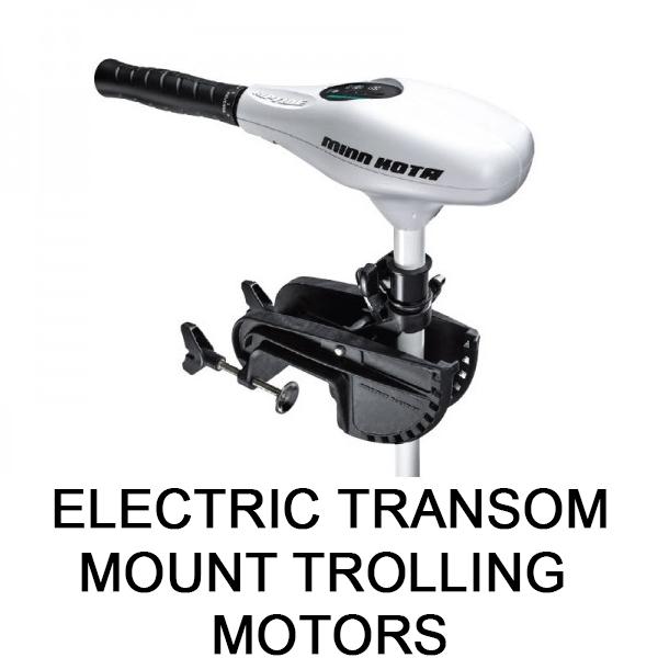 Electric Transom Mount Trolling Motors