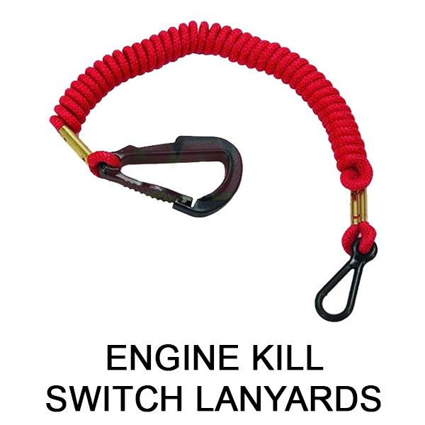 Engine Kill Switch Lanyards