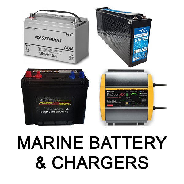 Marine Batteries & Chargers
